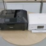 オフィスのプリンタ複合機を買い換えました。